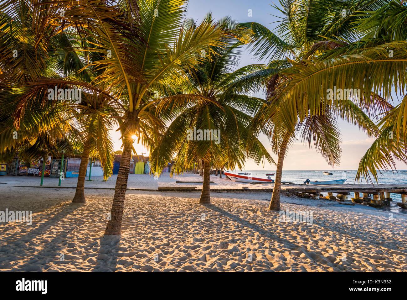 Mano Juan, Saona Island, East National Park (Parque Nacional del Este), Dominican Republic, Caribbean Sea. - Stock Image