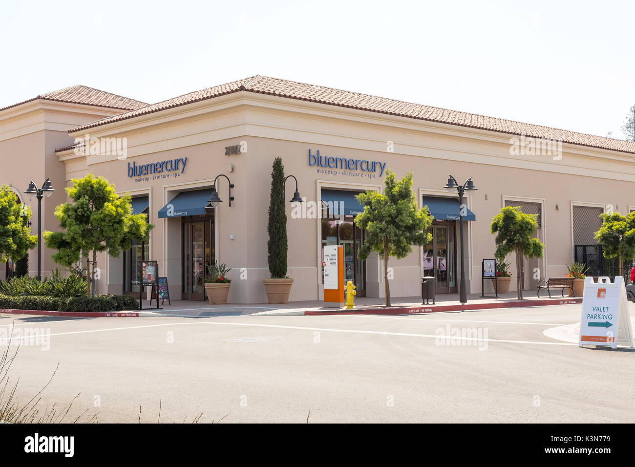 Blue Mercury Store in Sunnyvale, Calif. - Stock Image