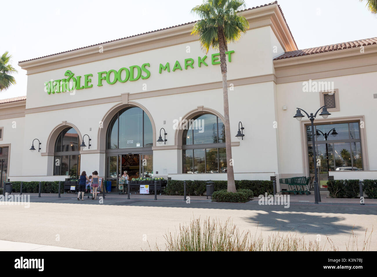 Whole Foods Grocery store in Sunnyvale, Calif. - Stock Image