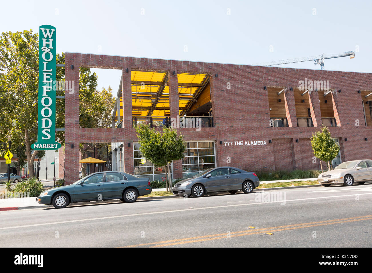 Whole Foods Grocery Store in San Jose, Calif. - Stock Image