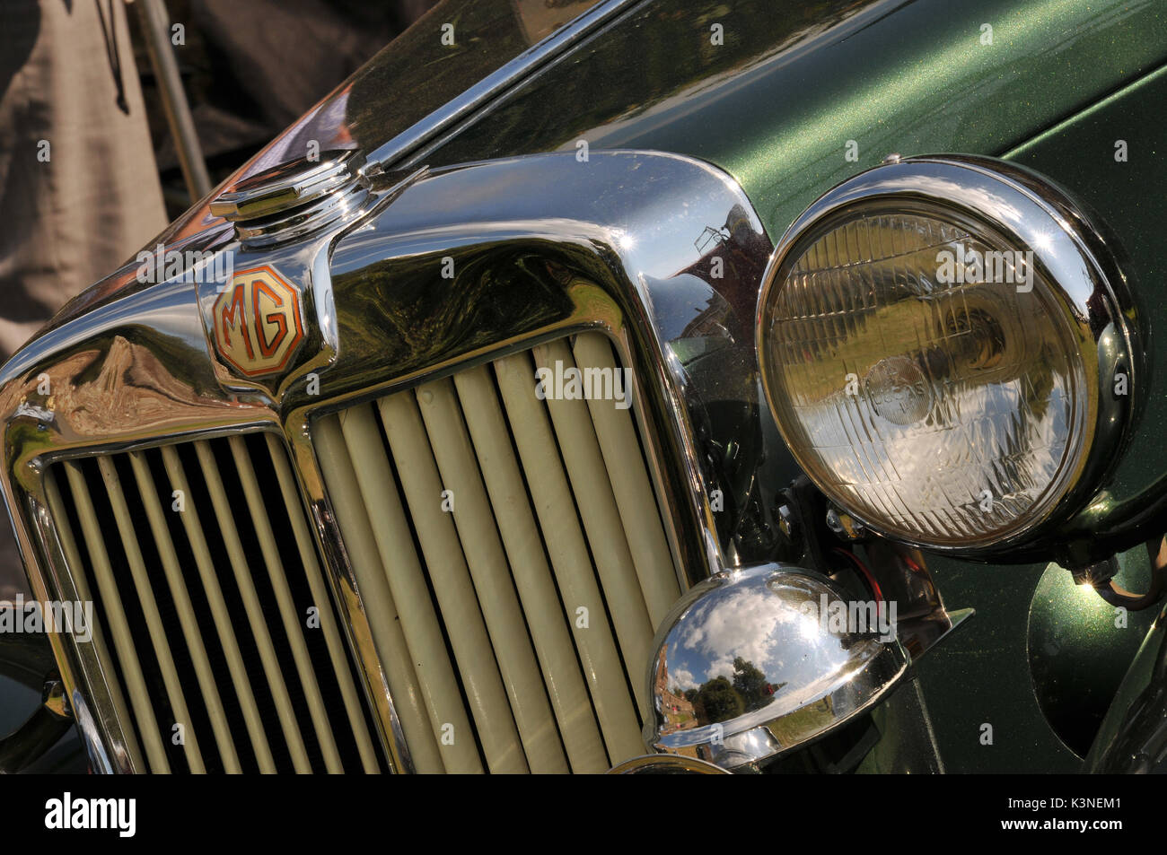 Classic Rolls Royce Austin Mg Cars At A Show All In Concourse Stock - Show all cars