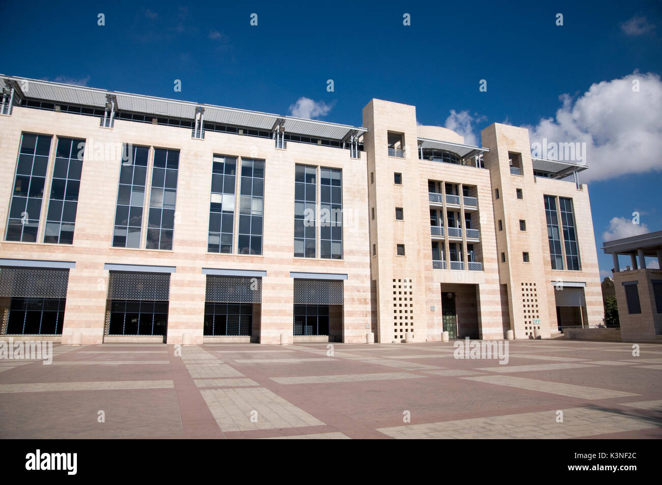 Jerusalem city council - Stock Image