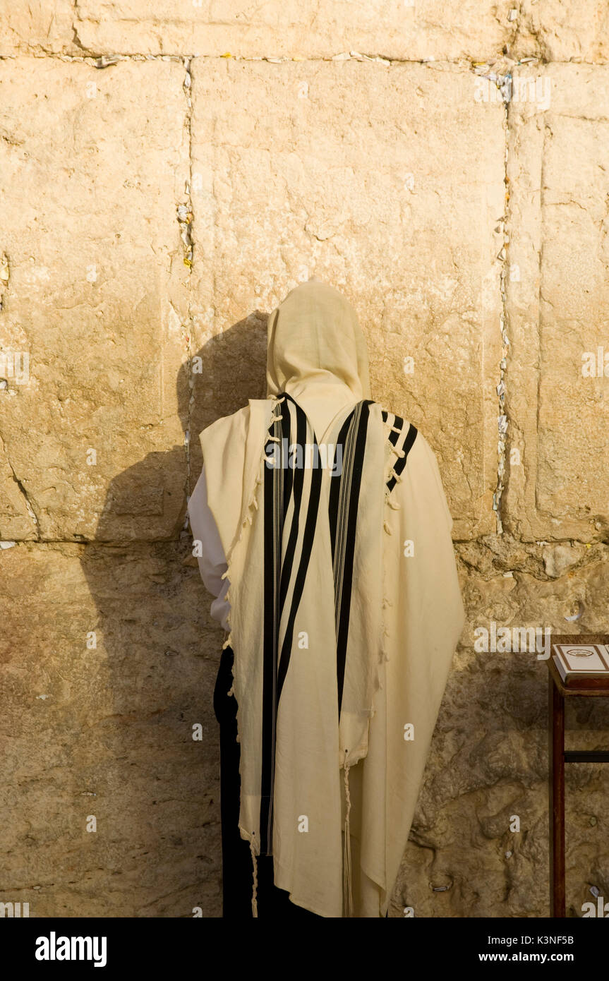 Western Wall, The Wailing wall - Stock Image