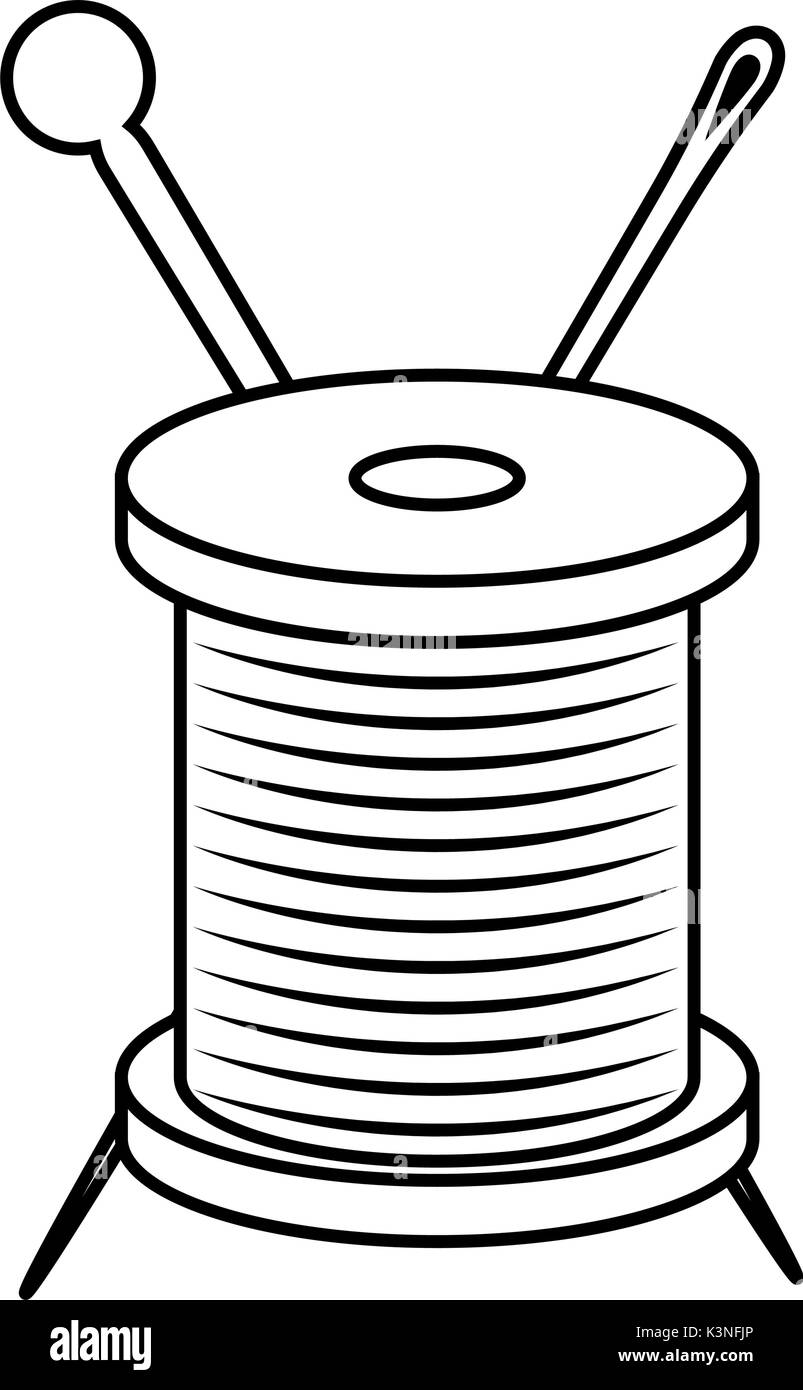 Spool Stock Vector Images - Alamy