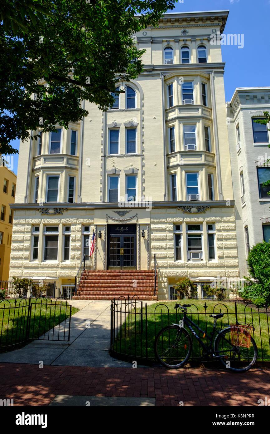 The John Jay Apartments, 314 East Capitol Street NE, Washington DC Stock Photo