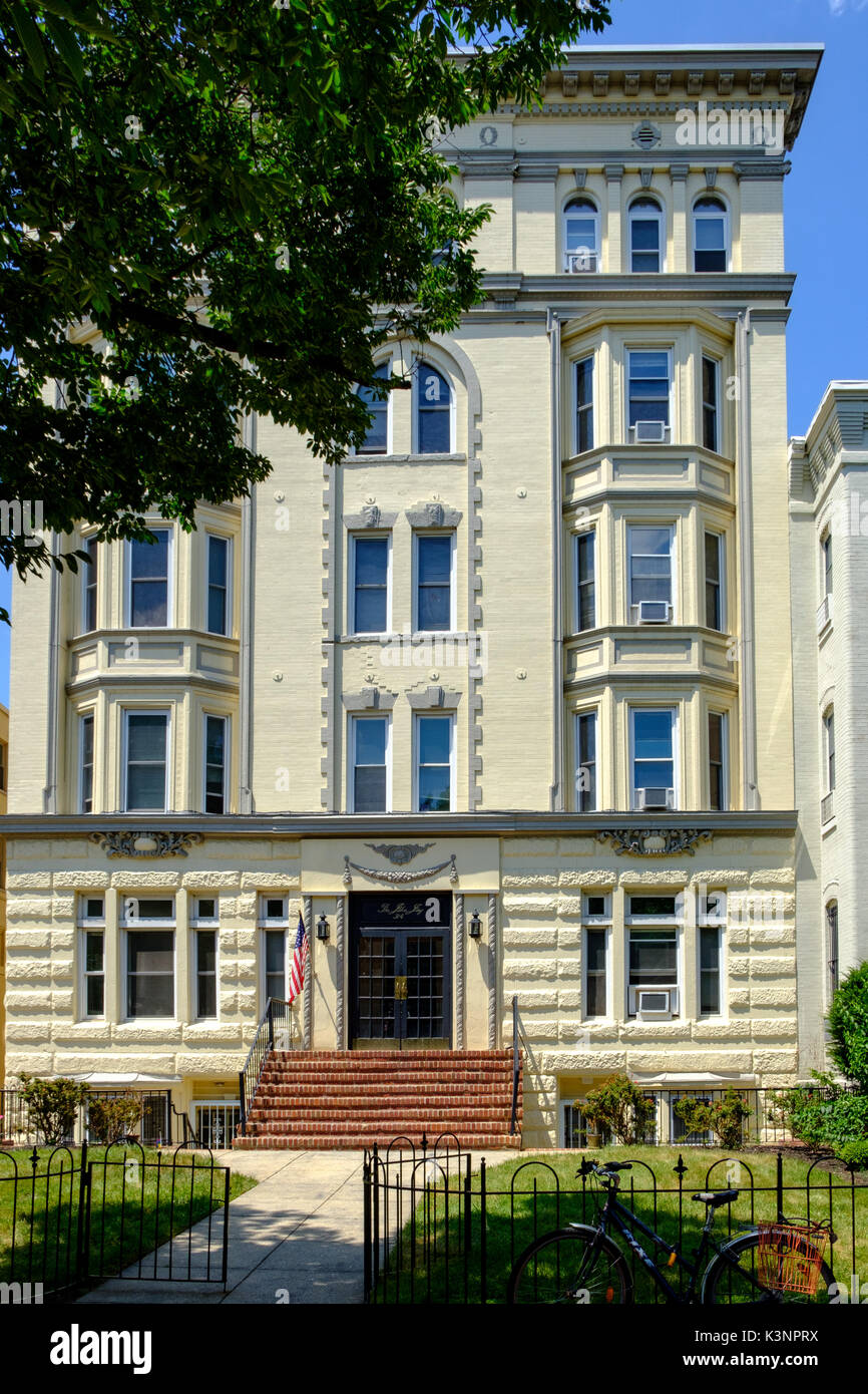 The John Jay Apartments, 314 East Capitol Street NE, Washington DC Stock Photo
