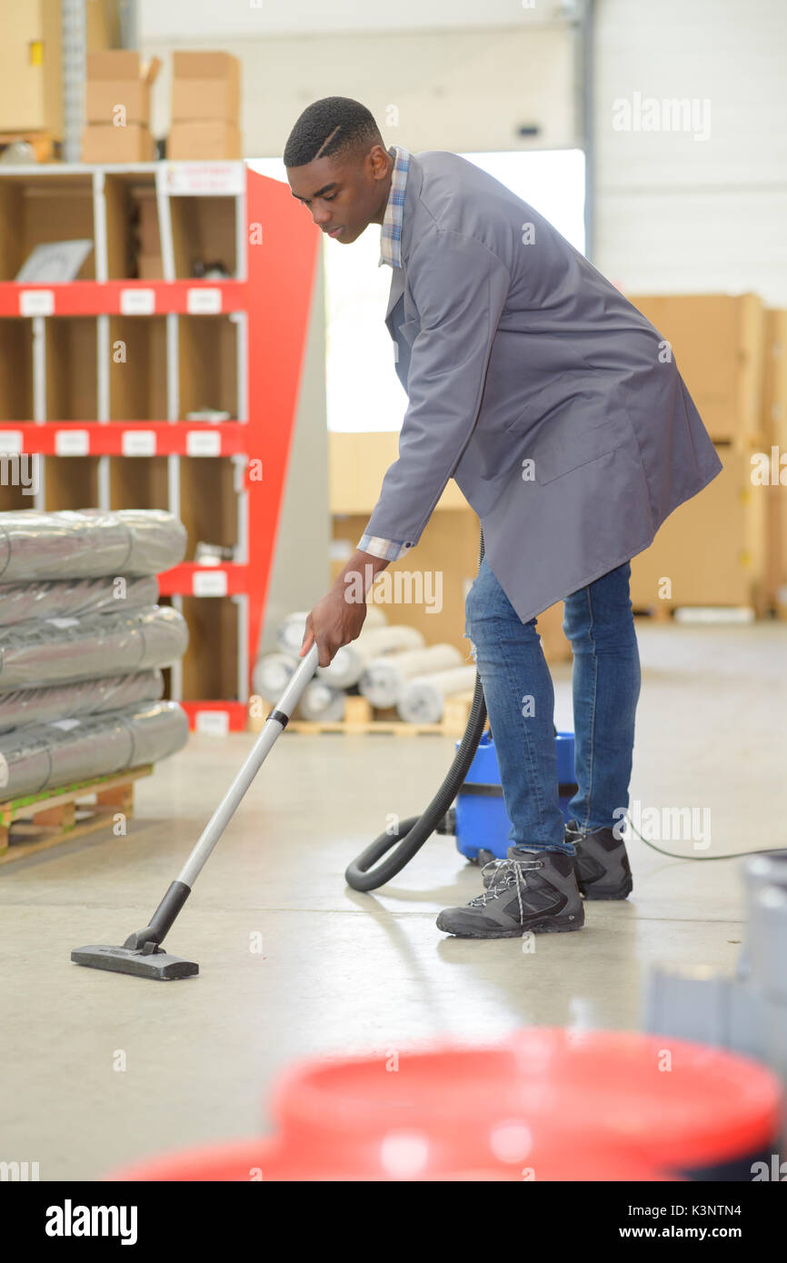 German redhead janitor
