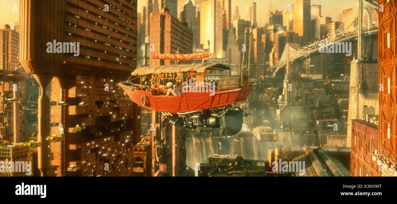 THE FIFTH ELEMENT [FR 1997] MILLA JOVOVICH     Date: 1997 - Stock Image