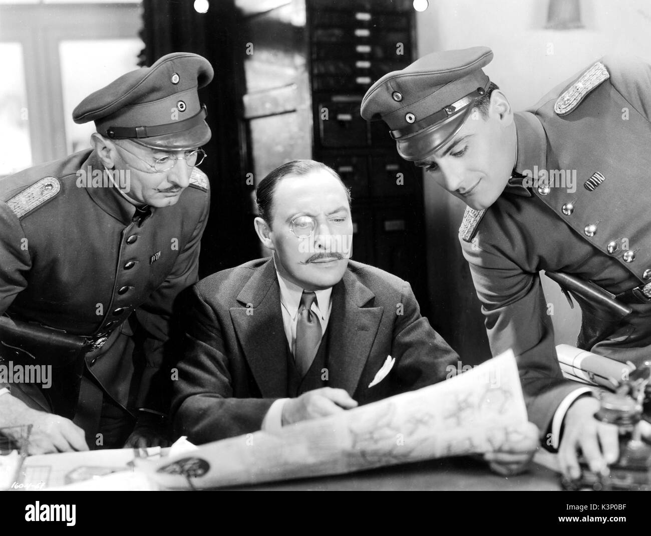 TILL WE MEET AGAIN [US 1936] LIONEL ATWILL [centre]     Date: 1936 - Stock Image