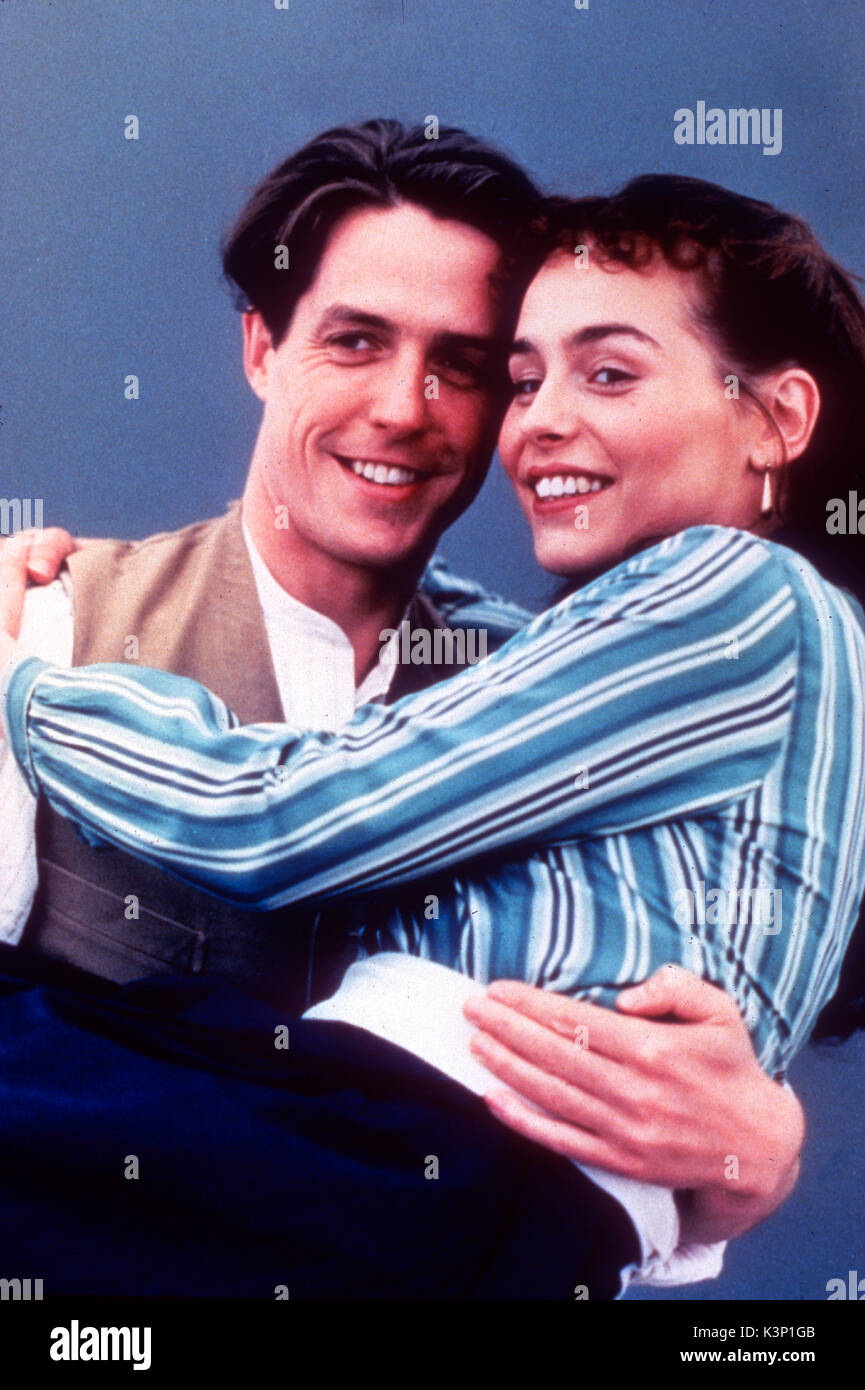 THE ENGLISHMAN WHO WENT UP A HILL AND CAME DOWN A MOUNTAIN [BR / US 1995] HUGH GRANT, TARA FITZGERALD     Date: 1995 - Stock Image