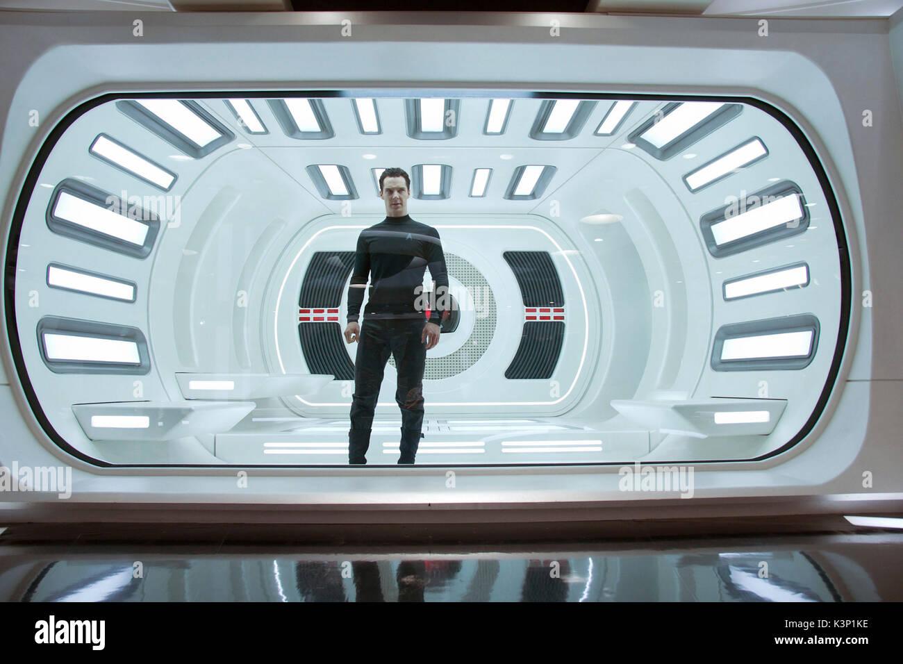 STAR TREK INTO DARKNESS [US 2013] BENEDICT CUMBERBATCH as John Harrison     Date: 2013 - Stock Image
