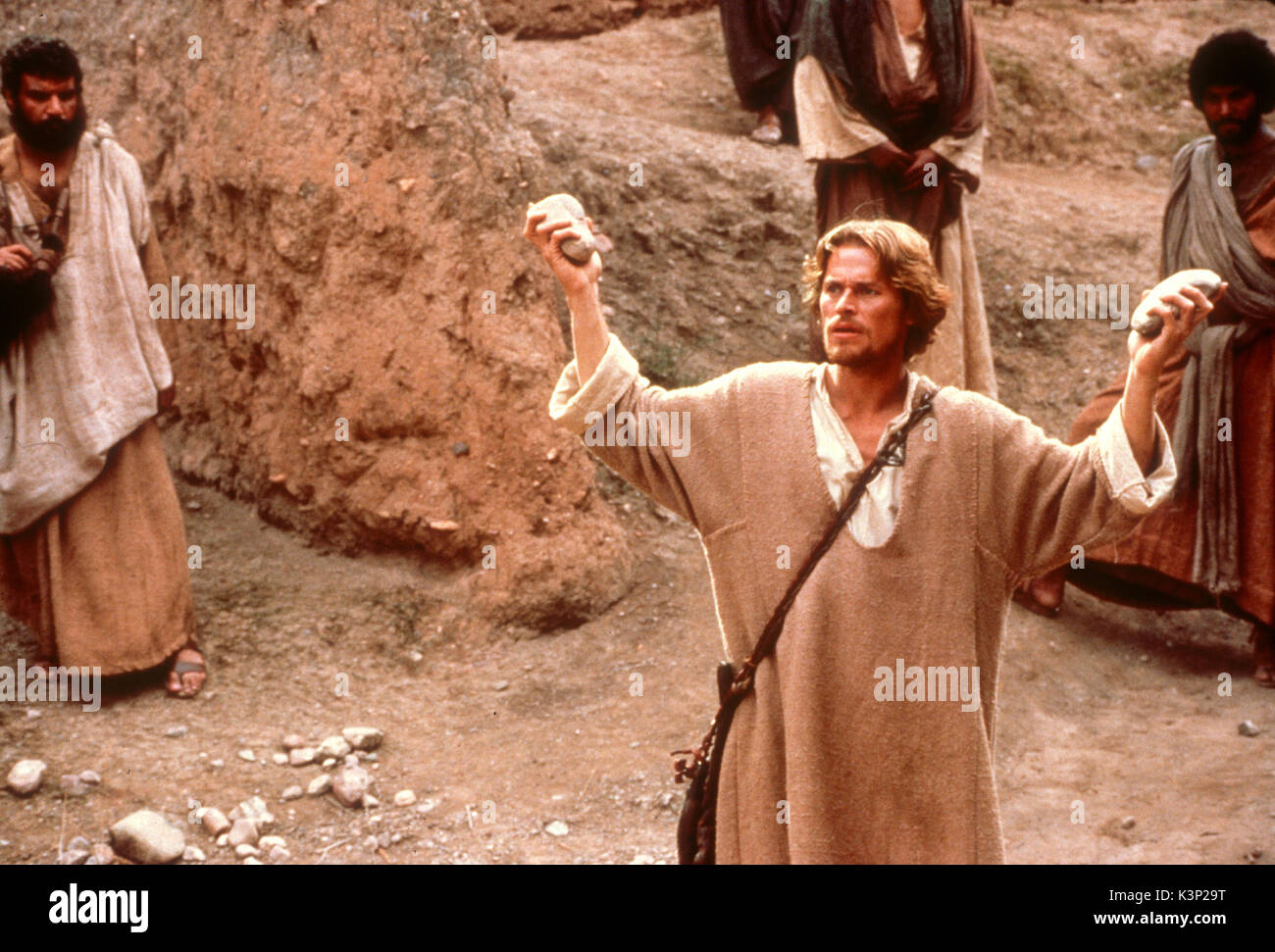 THE LAST TEMPTATION OF CHRIST [US / CAN 1988] WILLEM DAFOE as Jesus     Date: 1988 - Stock Image