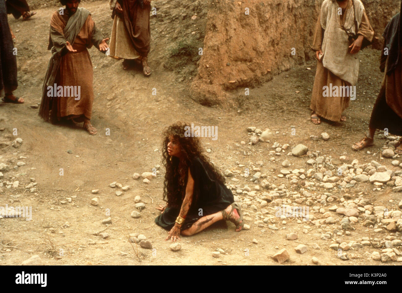 THE LAST TEMPTATION OF CHRIST [US / CAN 1988] BARBARA HERSHEY as Mary Magdalene     Date: 1988 - Stock Image