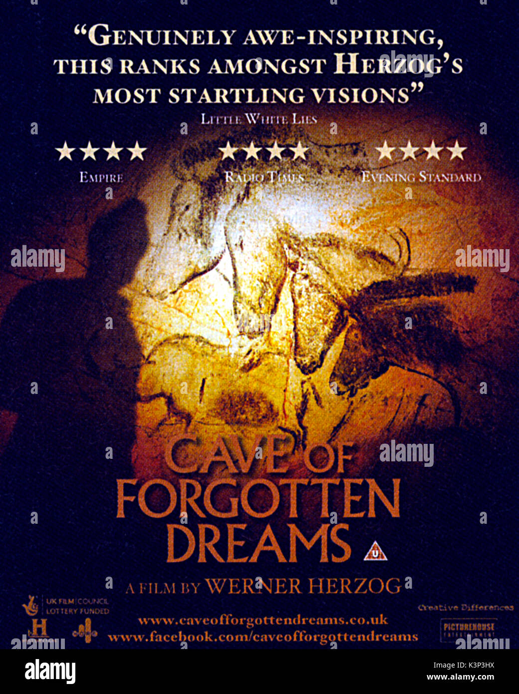 Poster Of The Film Documentary Cave Forgotten Dreams 2010 Directed By Werner