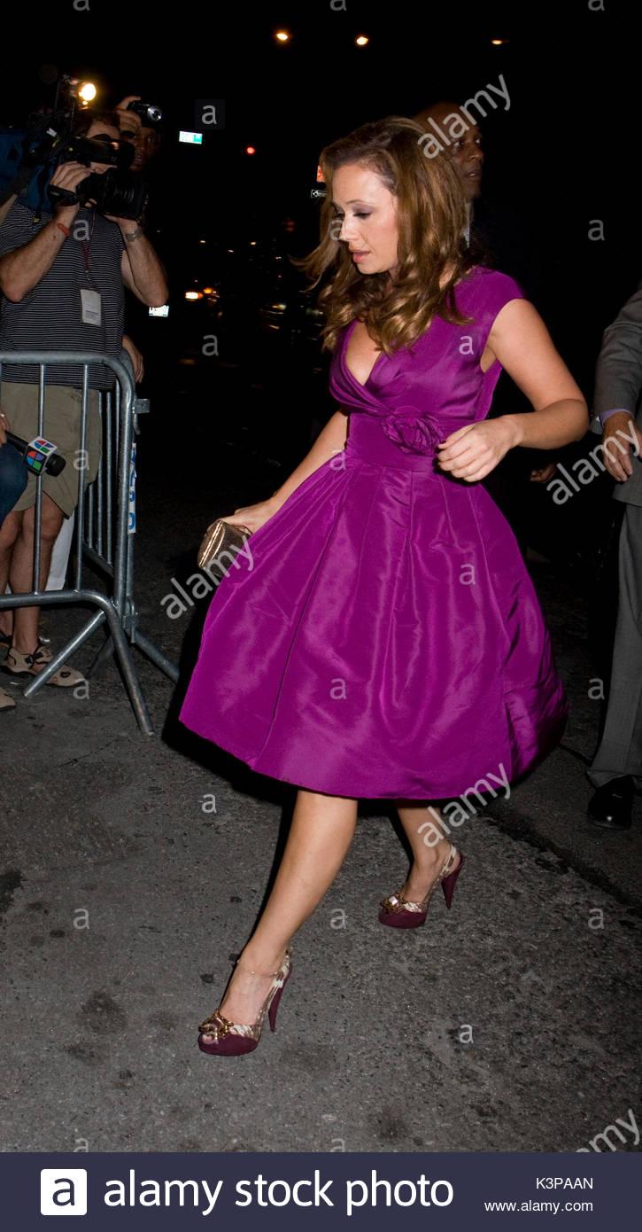 Leah Remini. Leah Remini arriving at the surprise 40th Birthday ...