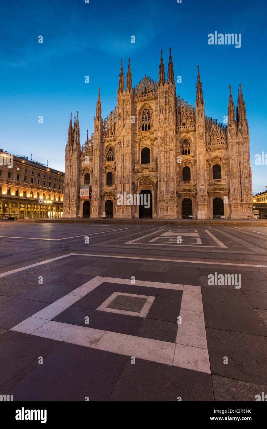 Europe, Italy, Piazza Duomo, Milan. Stock Photo