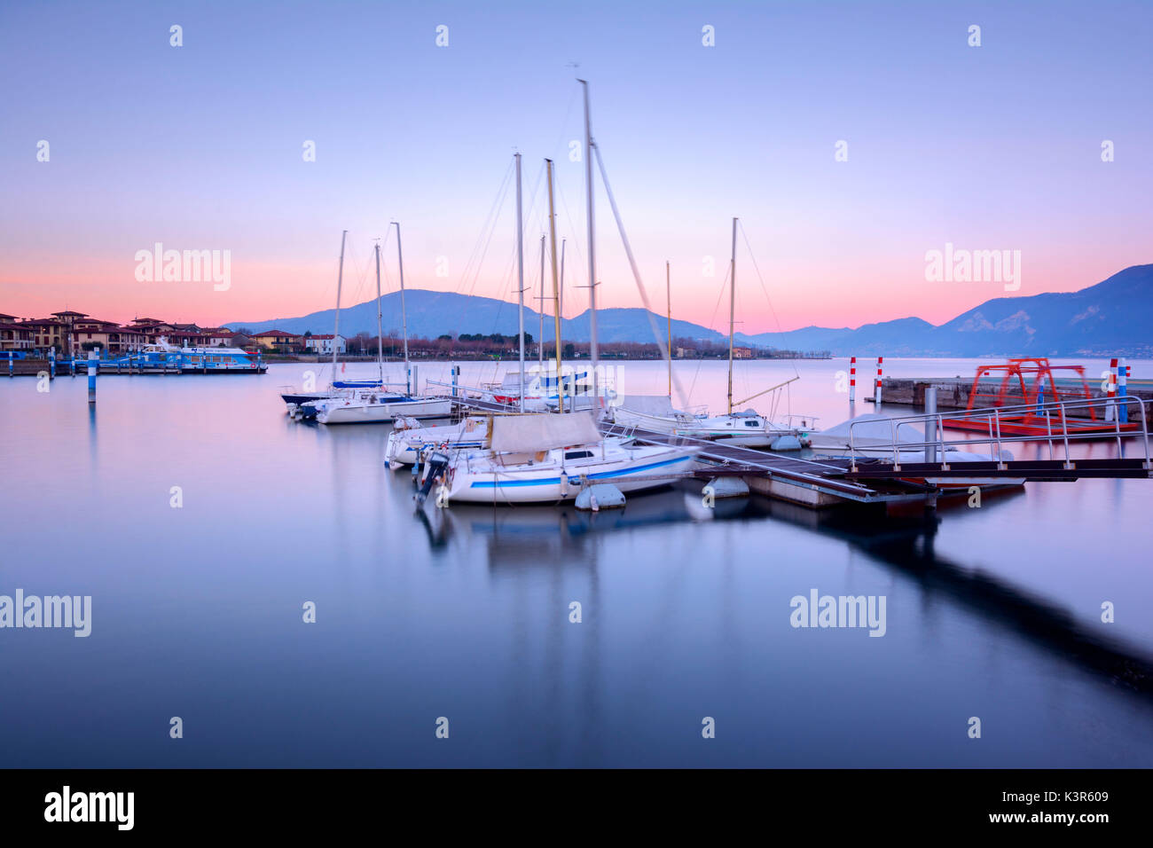 Iseo, province of Brescia, Italy - Stock Image
