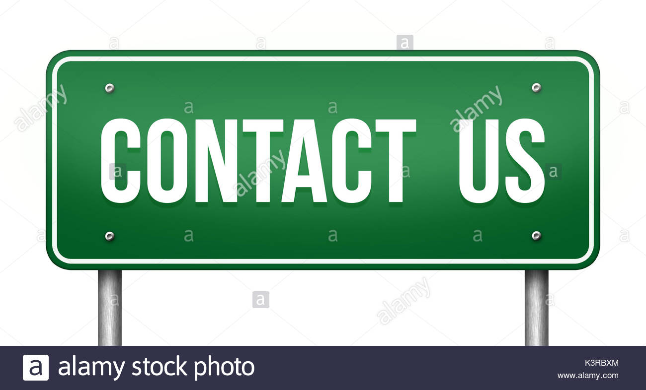 Contact us - Stock Image