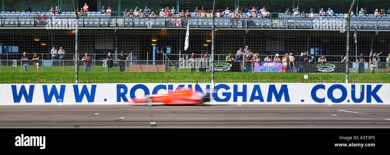 F4 British Championship, BTCC Rockingham, Rockingham Motorsport Speedway, Sunday, 27th August, 2017, Autosport, British Touring Car Championship, BTCC - Stock Image