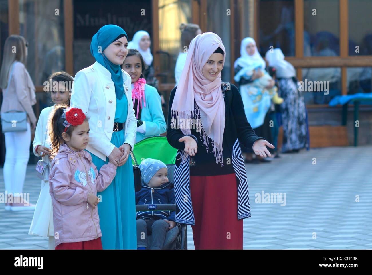 Ukraine muslim women