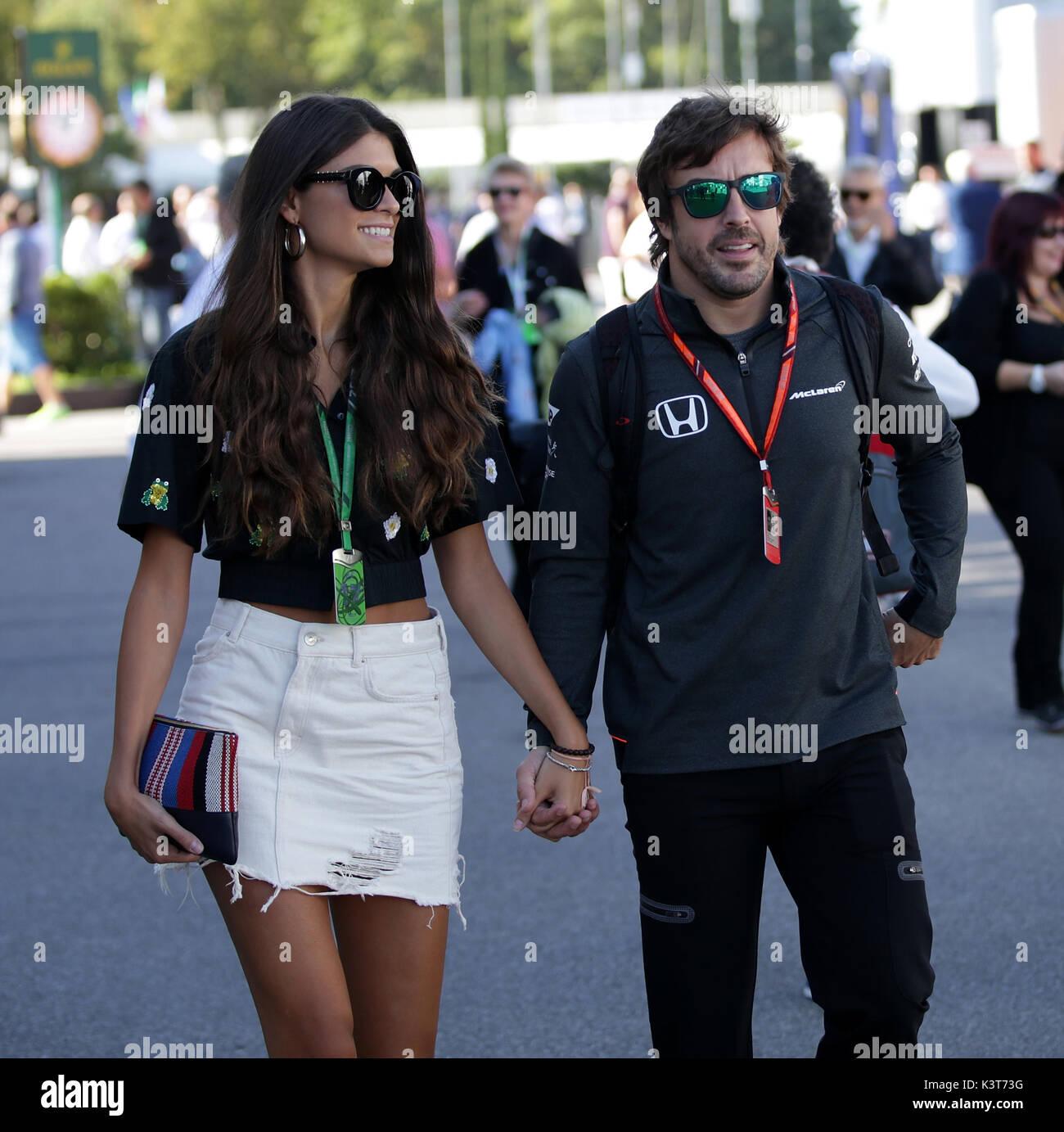 Monza, Italy  3rd September, 2017  Fernando Alonso (ESP