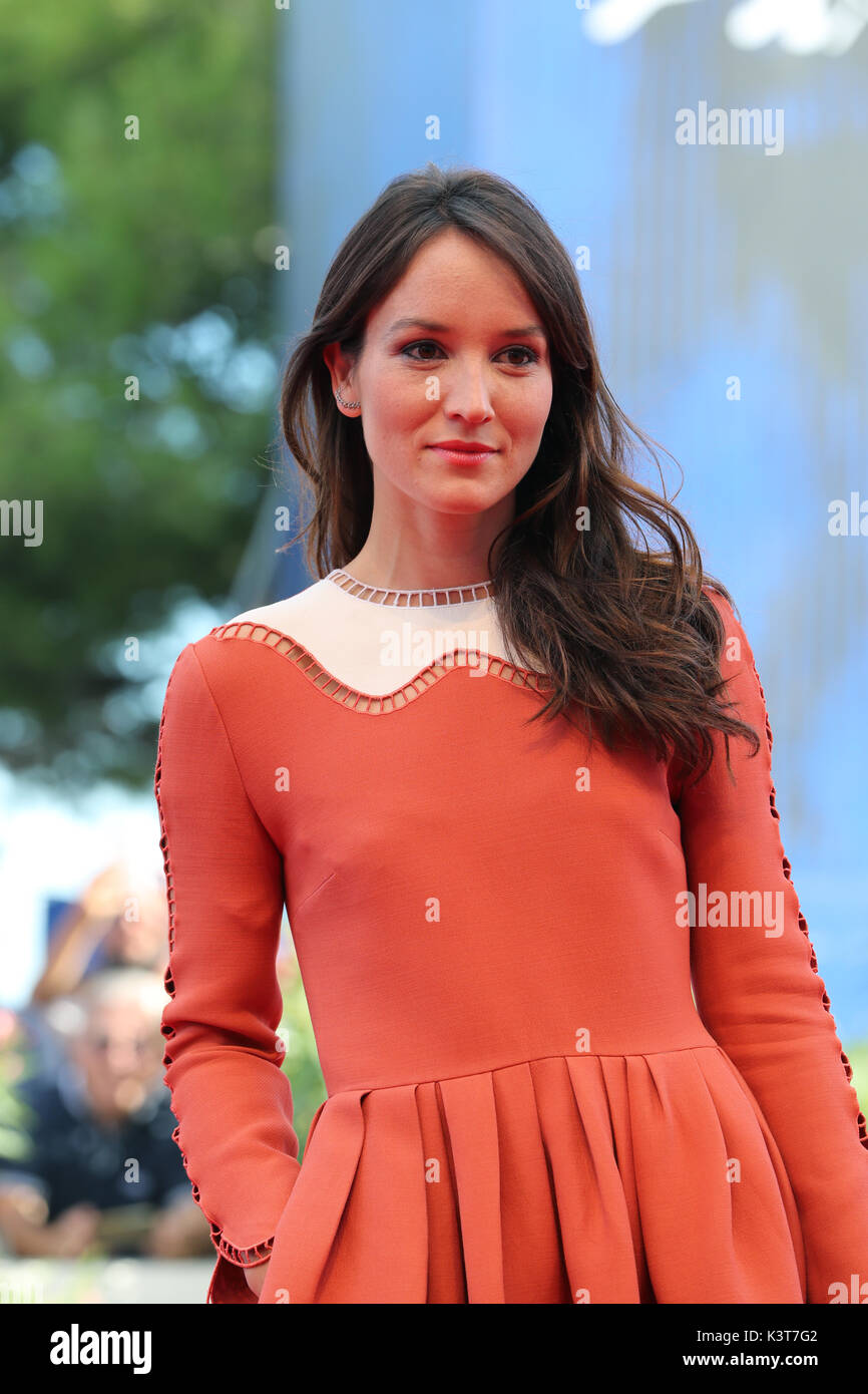 Anais Demoustier venice, italy. 3rd sep, 2017. anais demoustier walks the red