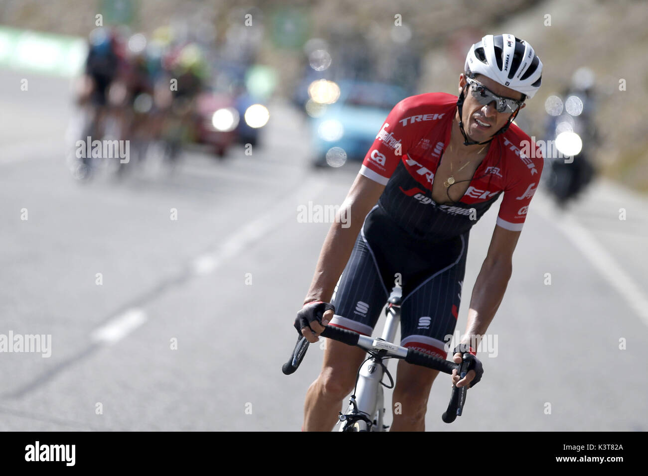 98c760dac Spanish Cyclist Alberto Contador Team Stock Photos   Spanish Cyclist ...