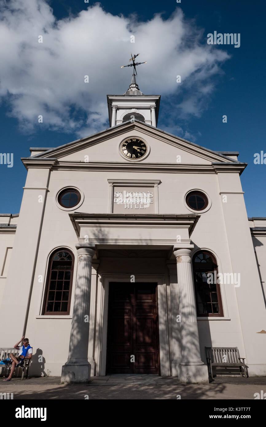 St.John's church,Downshire Hill,London NW3,UK - Stock Image