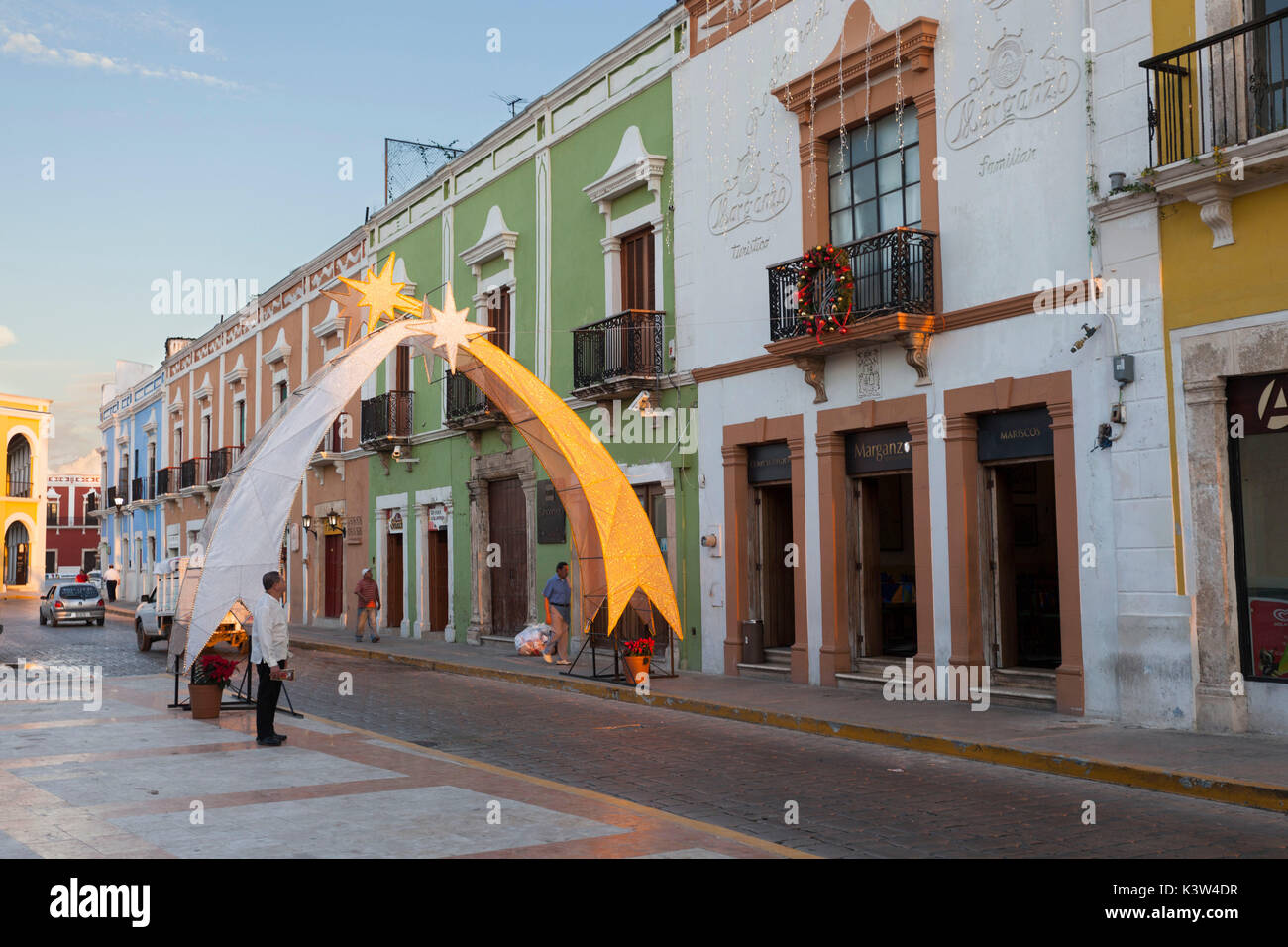 Campeche City, State of Campeche, Mexico. - Stock Image