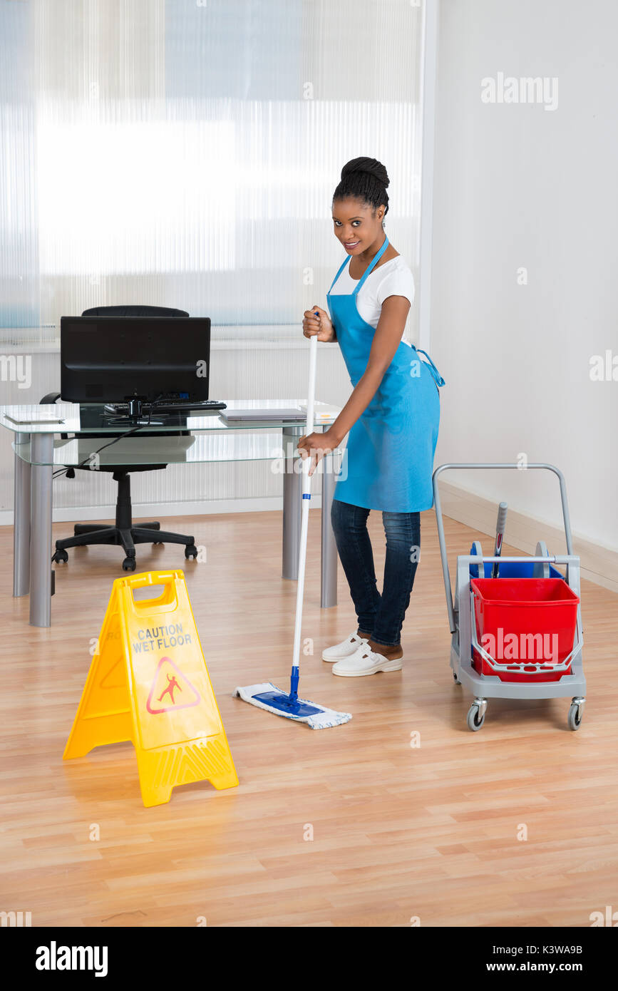 Black Woman Sweeping Stock Photos Amp Black Woman Sweeping