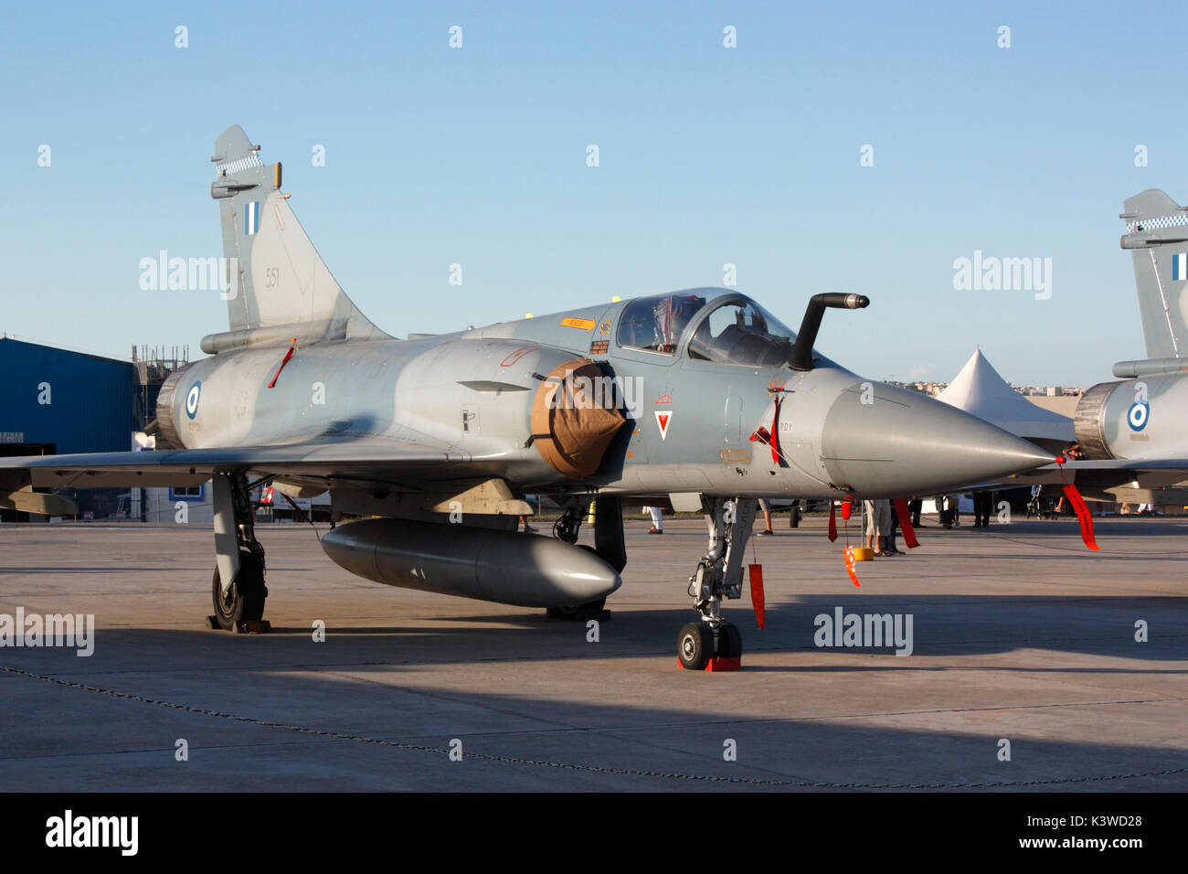 Dassault Mirage 2000 jet fighter of the Greek Air Force - Stock Image