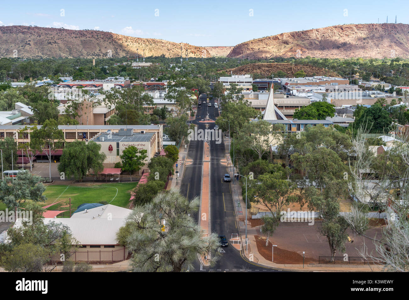 Alice Springs - Stock Image