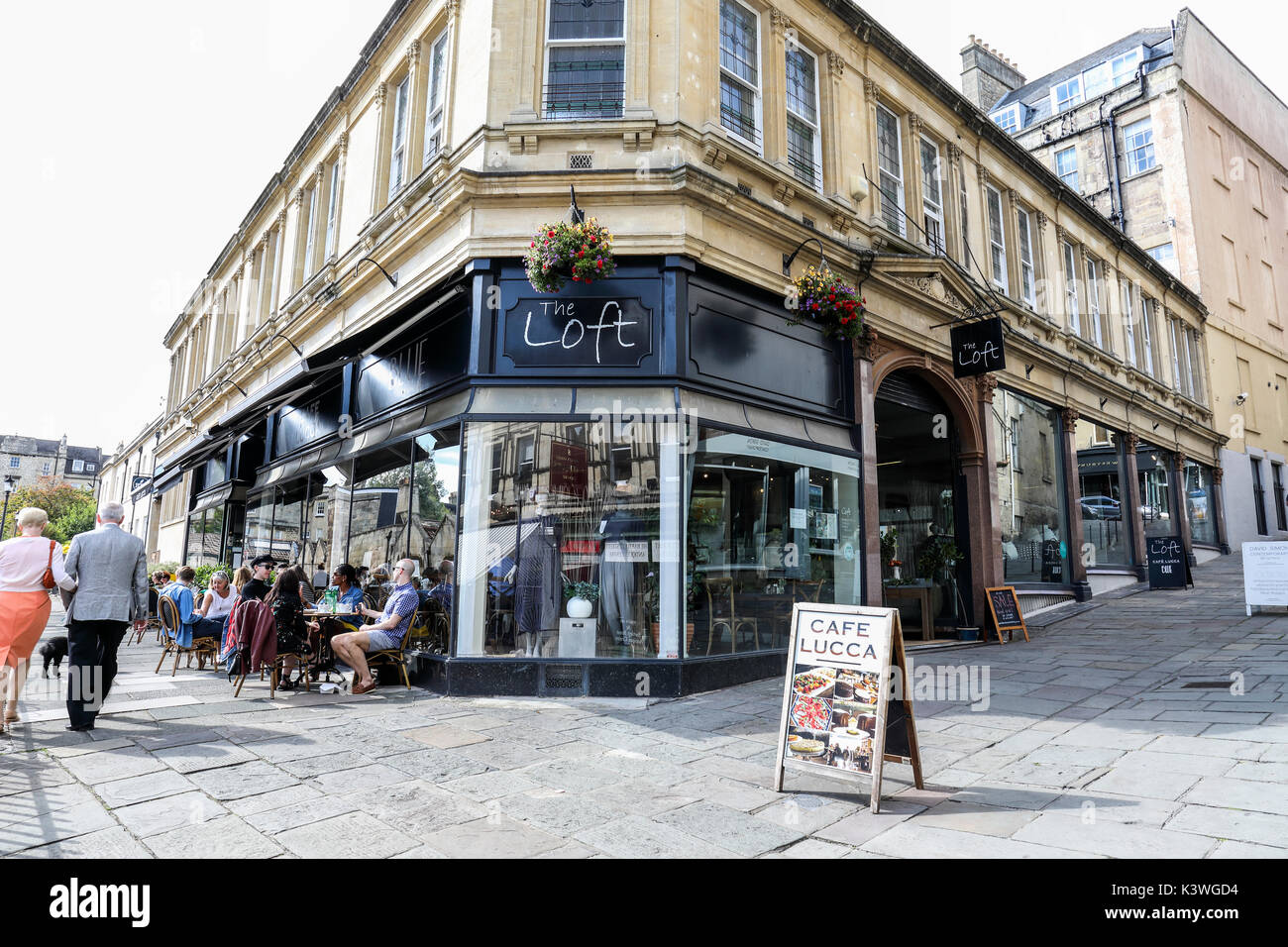 The Loft, Bartlett St Quarter, Bath, Somerset, England - Stock Image