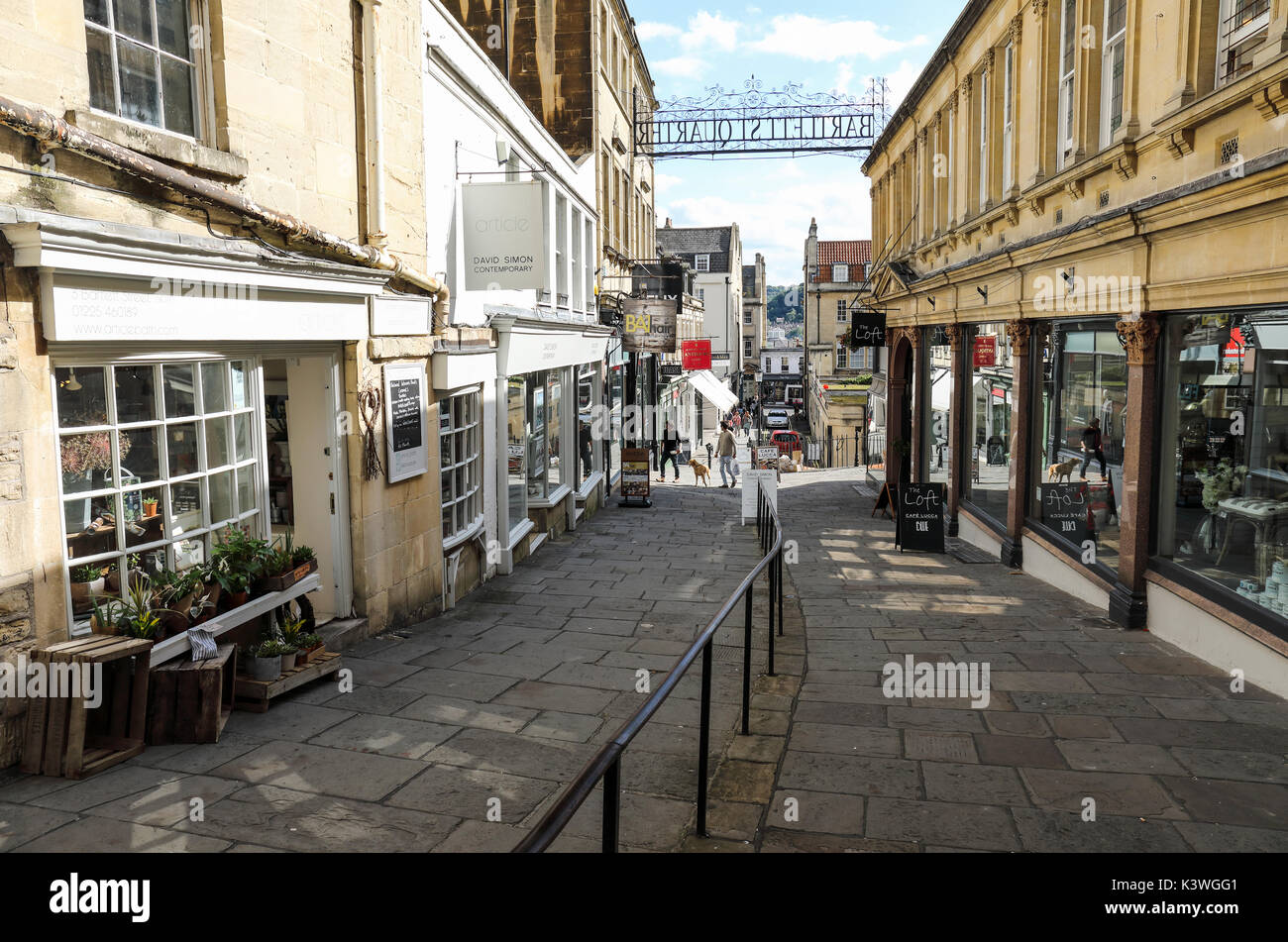 Bartlett St Quarter, Bath, Somerset, England - Stock Image