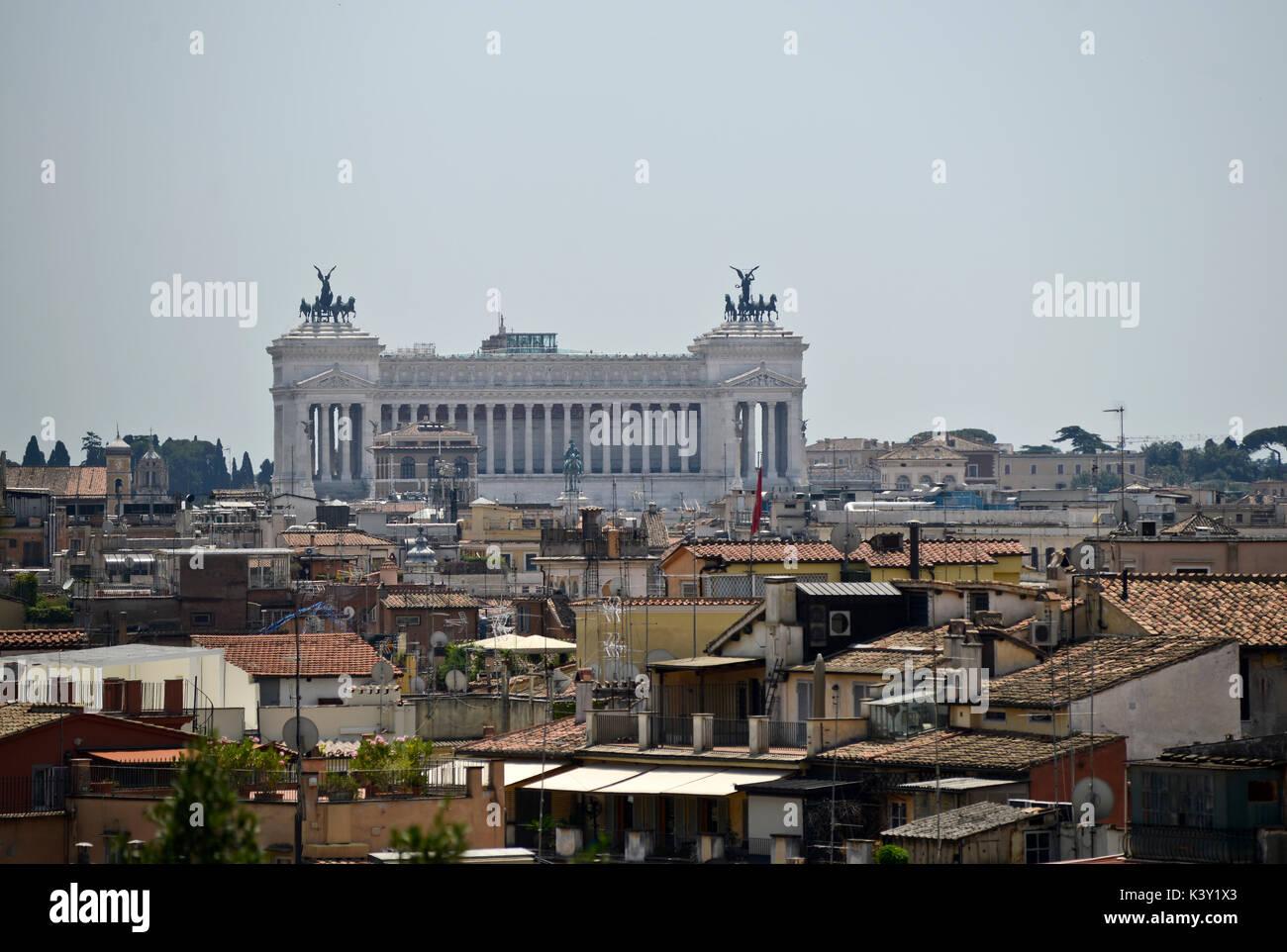Piazza Venezia, Rome - Stock Image