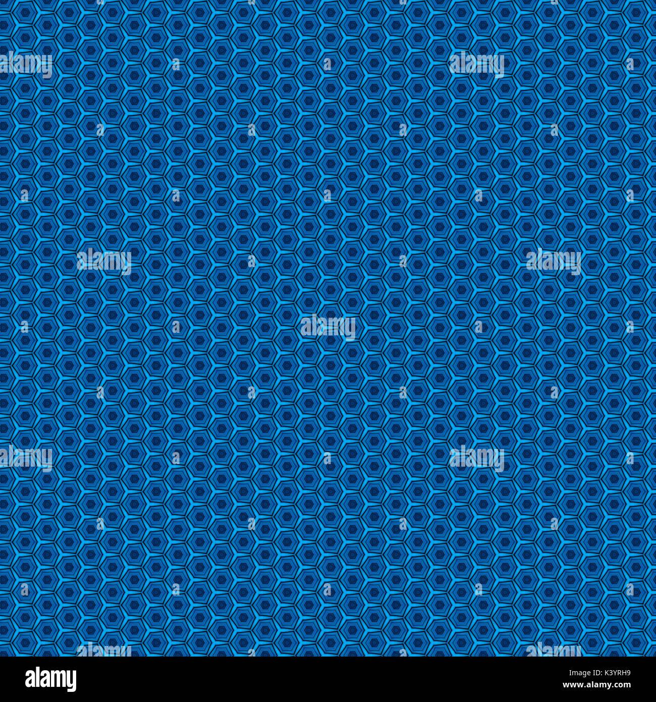 Geometric Peacock Blue PatternStock Photo