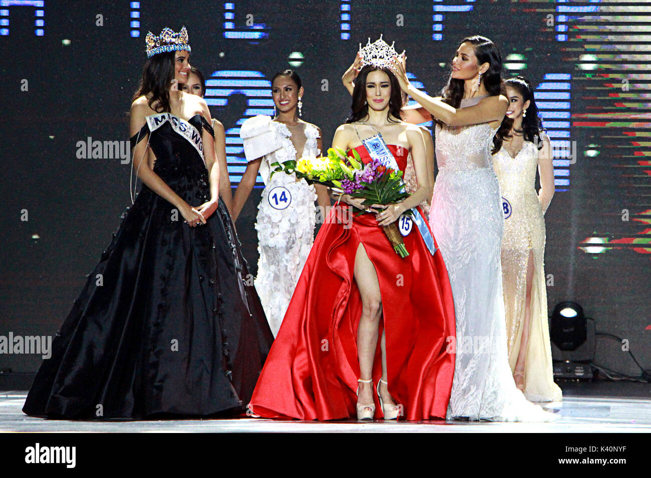 Miss Asia Pacific Stock Photos Images Catriona Monique Top Handle Bag Grey Philippines 03rd Sep 2017 Sportscaster 15 Laura Lehmann Center