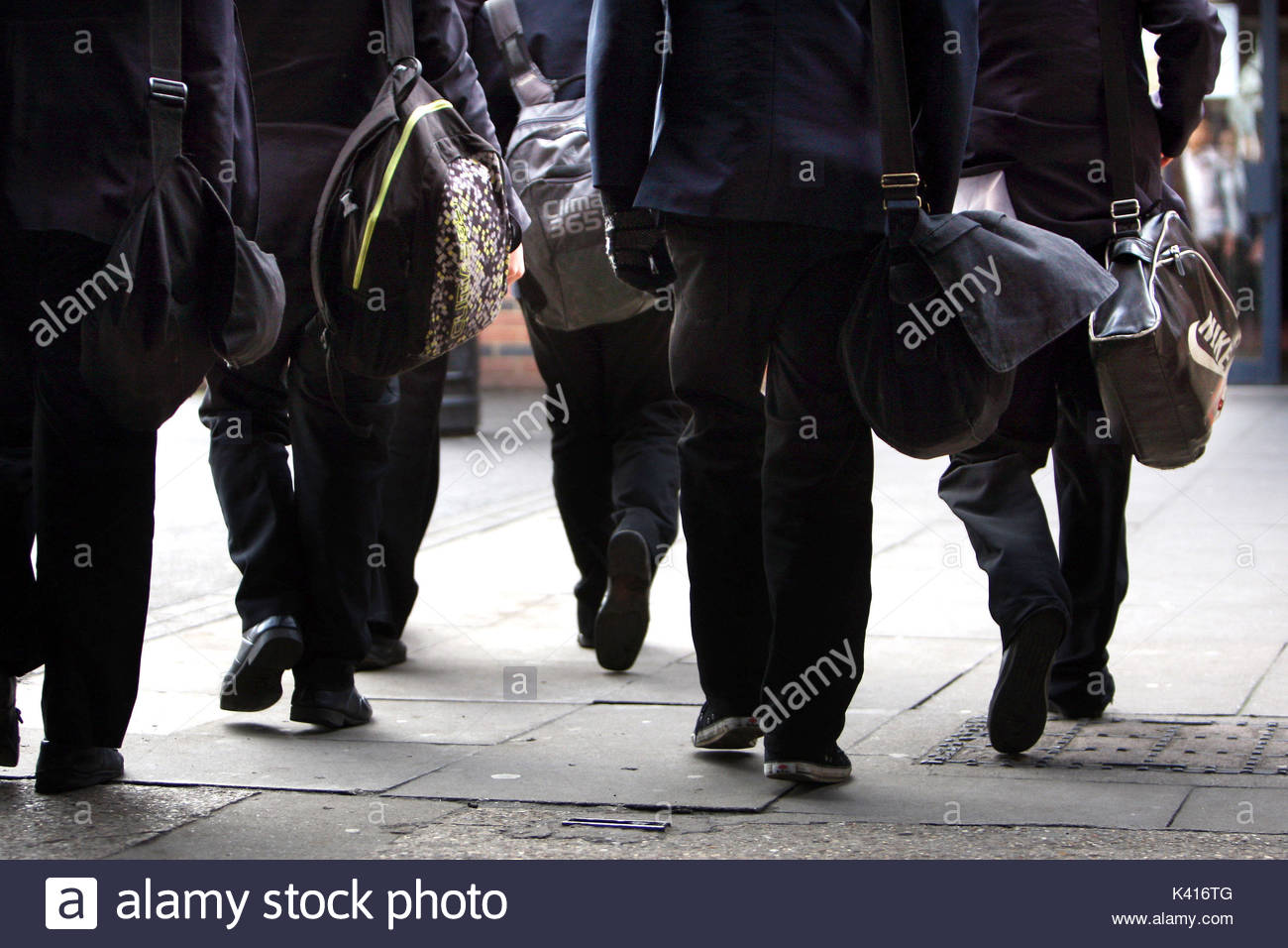 File photo dated 26/01/12 of a general view of pupils. Many youngsters say one of their biggest worries about heading back to the classroom is how they look, a poll suggests. - Stock Image