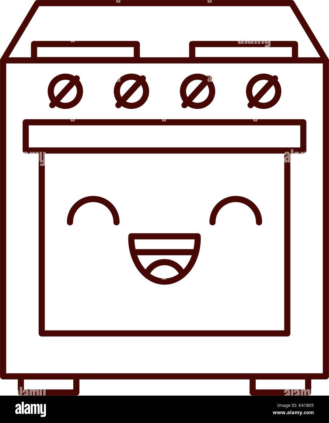 cartoon traditional oven stock photos cartoon traditional oven
