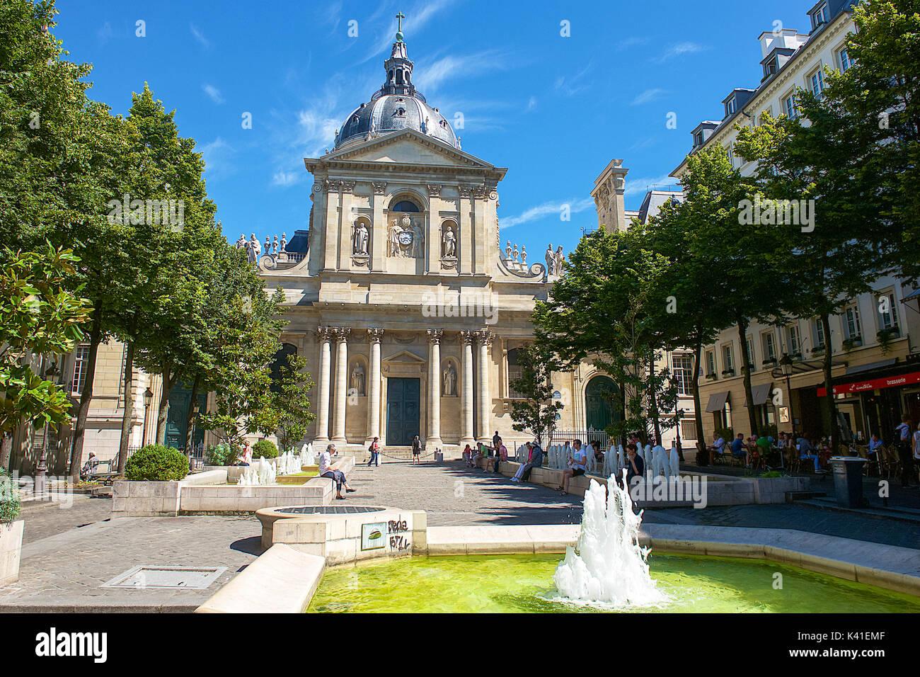 Sorbonne University,Paris,France - Stock Image