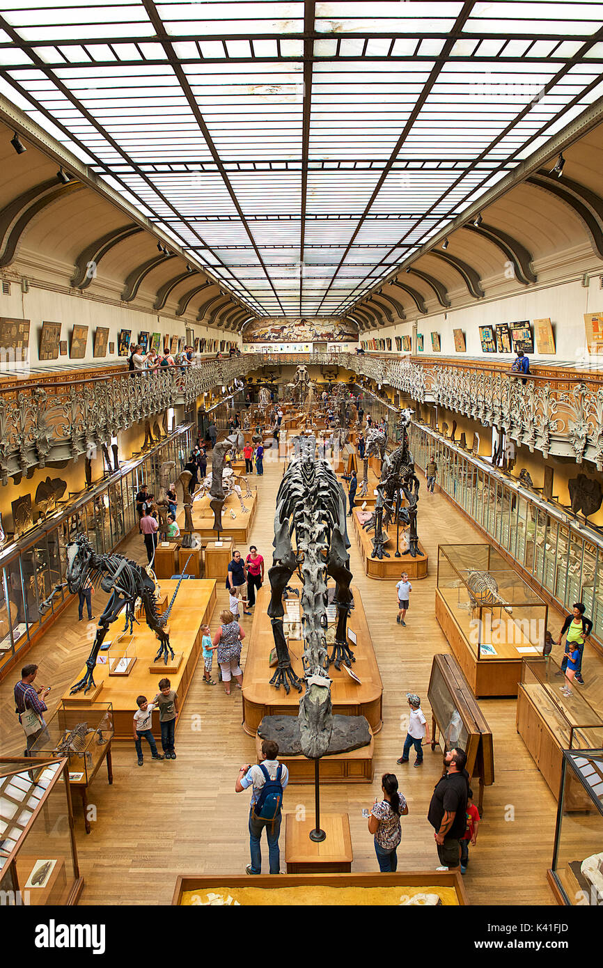 National Museum of Natural History,Paris,France - Stock Image