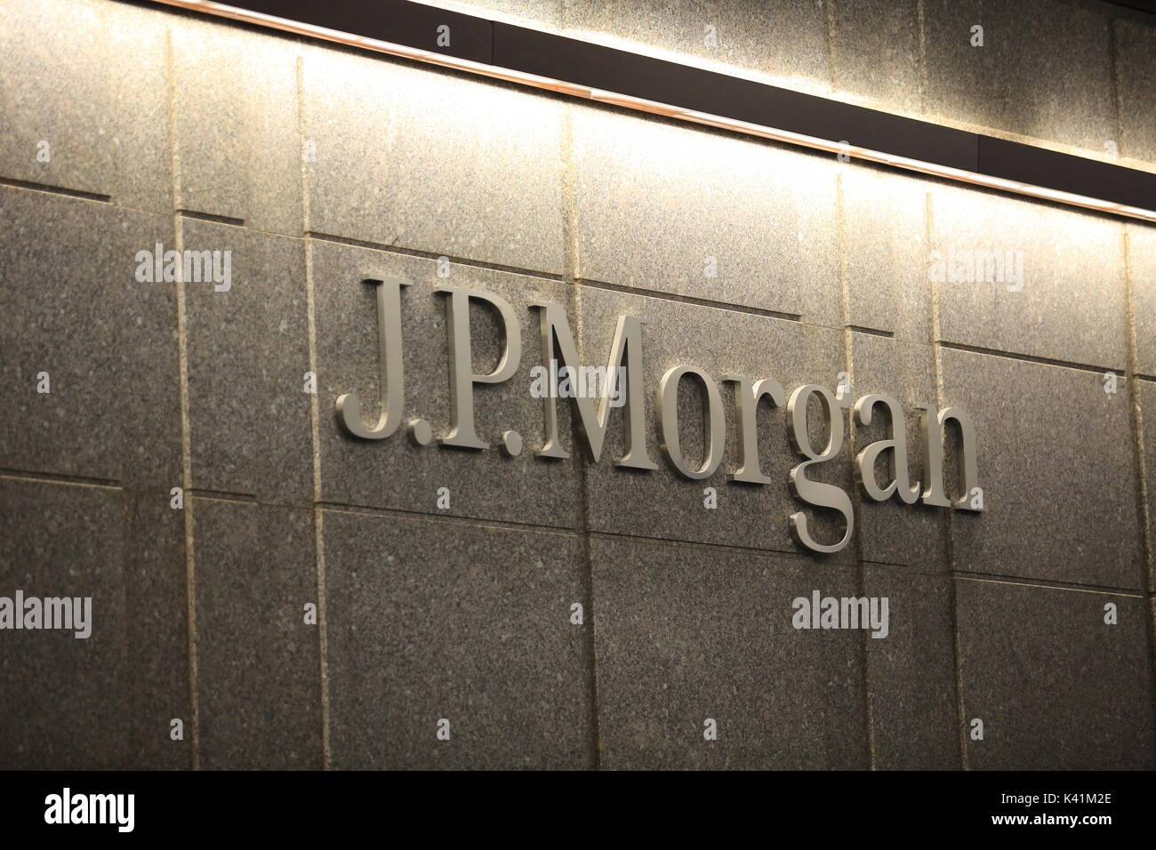 jp morgan headquarter office in new york Stock Photo