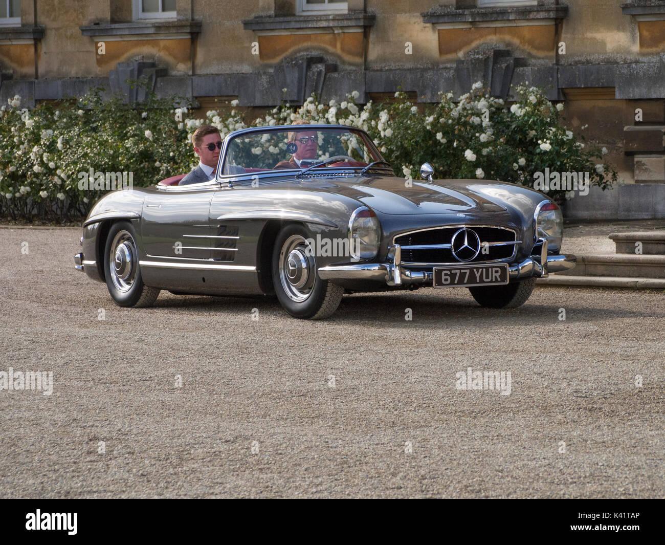 Mercedes Benz 300SL Roadster 1957 - Stock Image