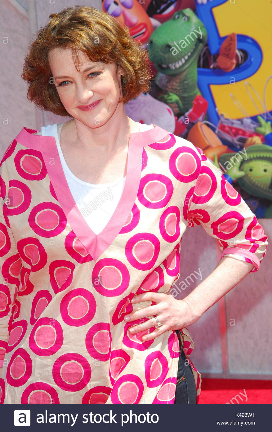 Joan Cusack Celebrities Arrive At The Los Angeles Premiere Of Toy