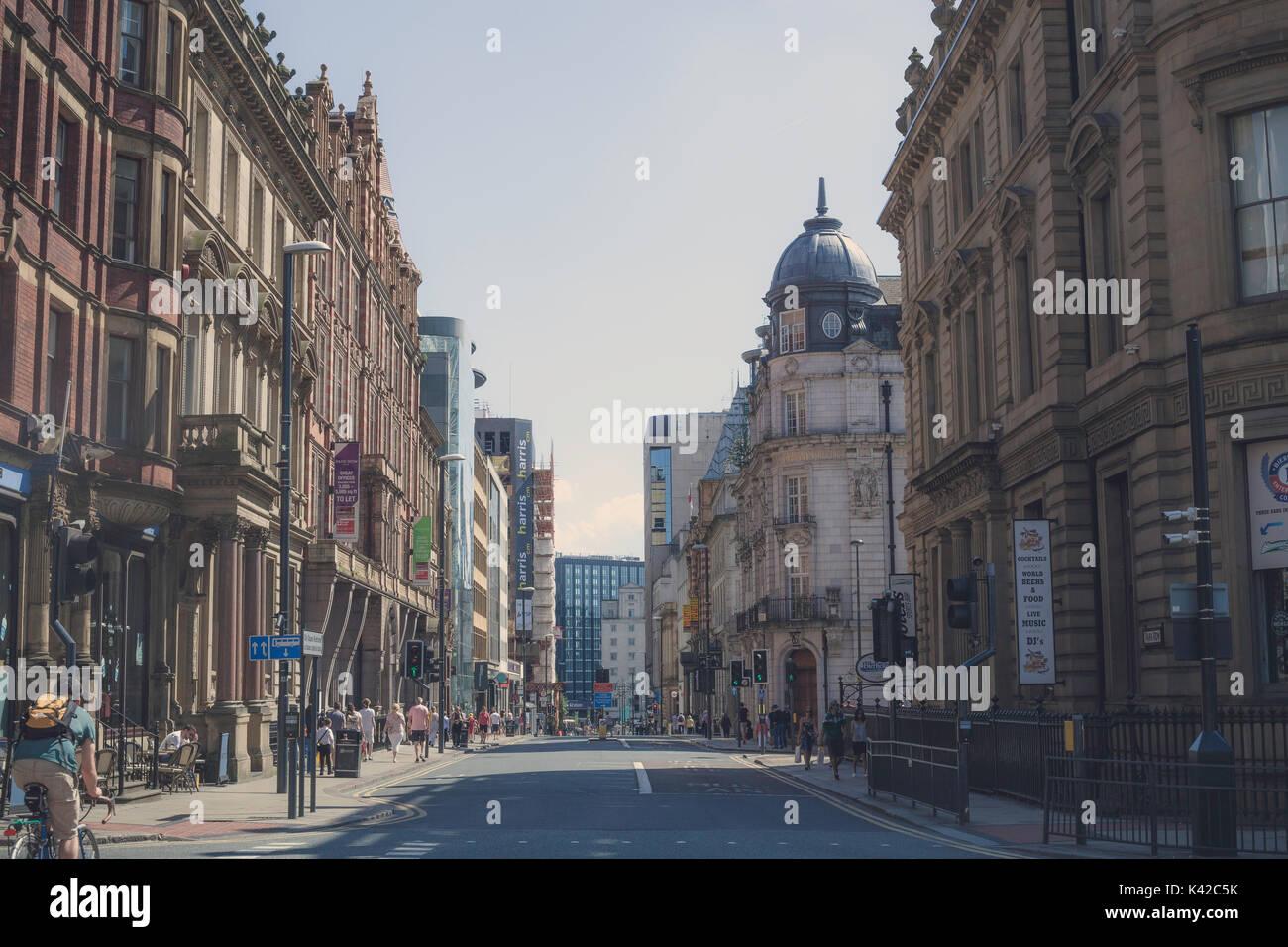 Leeds City Centre - Architecture - Stock Image