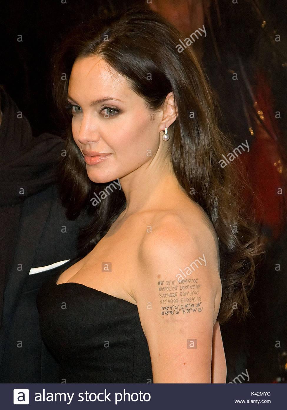 Angelina Jolie. Angelina Jolie's tattoos and their ...