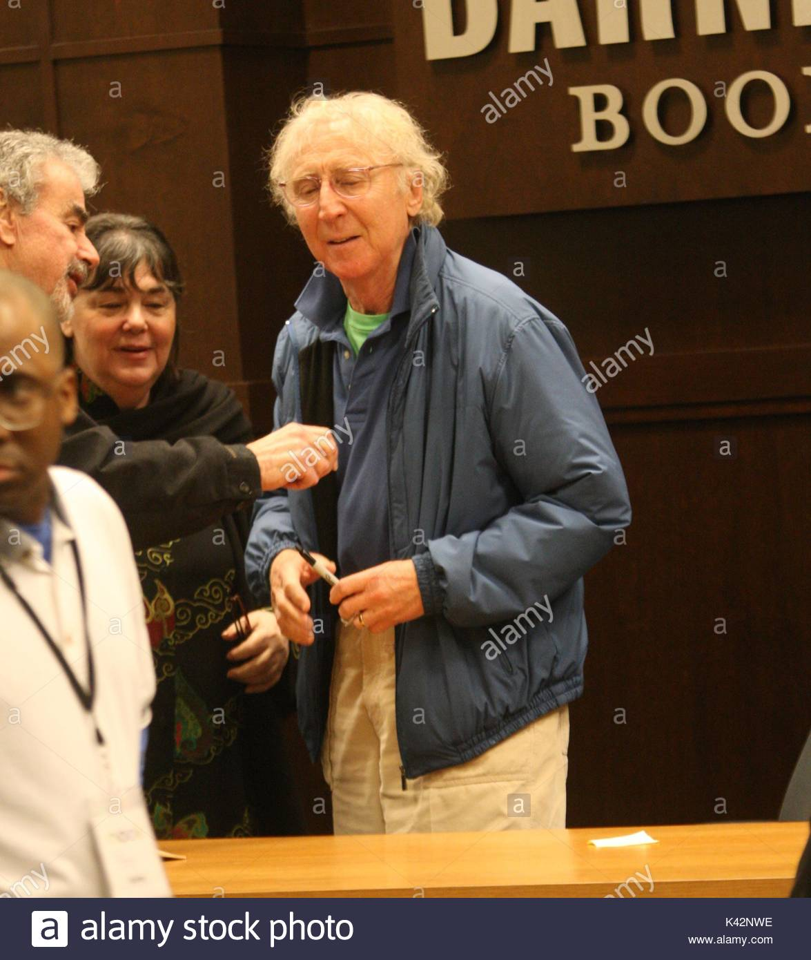 Gene Wilder Gene Wilder Goes To His Book Signing At Barnes And