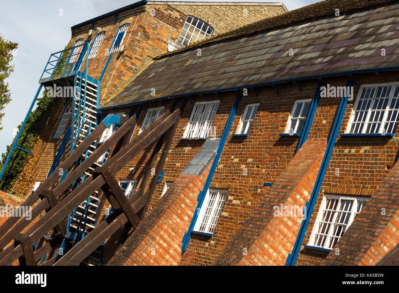 Wooden support joists. Wilton England UK - Stock Image