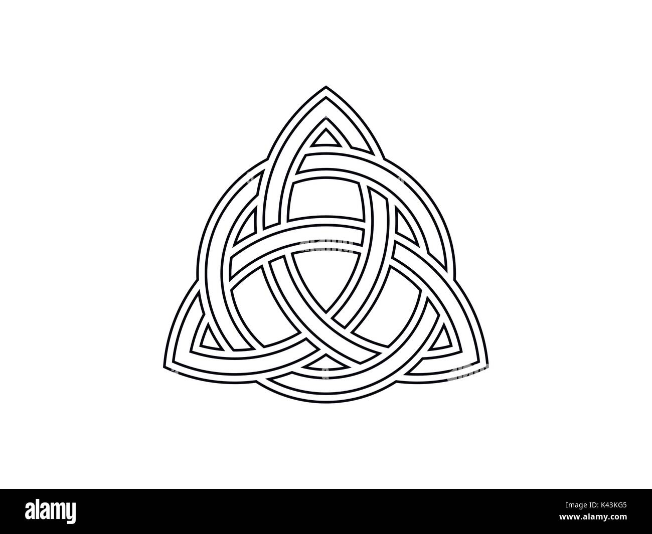 Celtic Knot Cut Out Stock Images Pictures Alamy