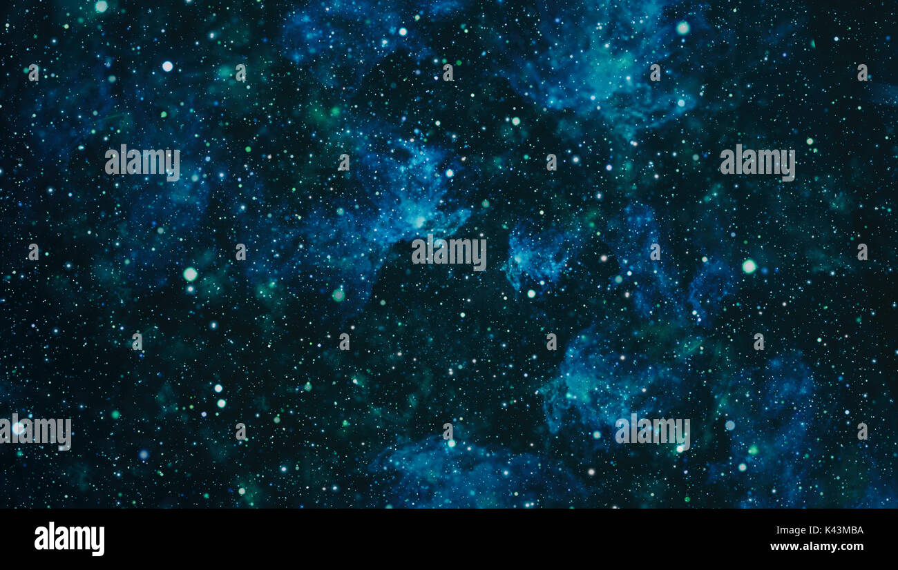 Deep space. High definition star field background - Stock Image